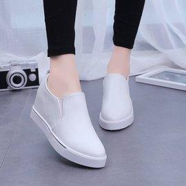 女鞋2016 單鞋舒適樂福鞋平底 鞋女士高跟鞋百搭鞋子女