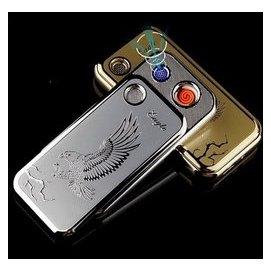 吹一吹氣流啟動 酷睿超薄智慧點煙器K1~YIN鷹 USB充電打火機