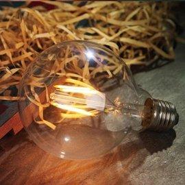 ~IN Love 居家 北歐工業家飾~LED愛迪生燈泡 仿鎢絲電燈泡 復古工業風 G80