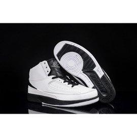 NIKE AIR JORDAN II  AJ 2 飛人 喬丹 復刻版 黑白 配色 籃球鞋4