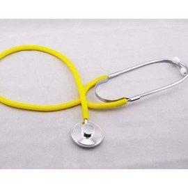 ^(黃色^) 角色扮演 醫生 護士 化妝舞會扮演角色 卡漫角色扮演 聽診器 一般家庭用聽診