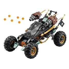 ~Q Brick~樂高 LEGO 70589 岩石衝鋒越野戰車 無人偶 Ninjago 忍