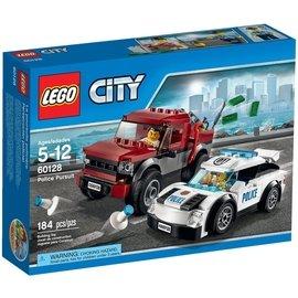 ~Q Brick~樂高 LEGO 60128 員警追逐 City 城市系列