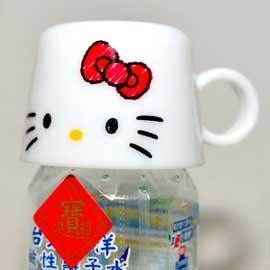 Hello Kitty 寶特瓶 蓋子水杯 140ml Skater 超方便