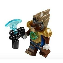 LEGO 樂高 拿獅達 人偶^(附武器^) Lavertus 神獸傳奇 Chima 701