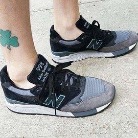 NEW BALANCE M998GGM 美產訂制版本 灰黑薄荷綠 男鞋