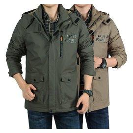 正品AFS JEEP戰地 吉普夾克男士戶外 加絨加厚夾克沖鋒外套衣