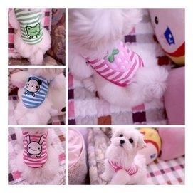 超小奶狗衣服 茶杯犬衣服 約克夏泰迪幼犬衣 幼貓衣服
