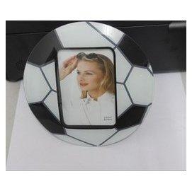 世界杯 相框5寸足球相框 水晶相框 玻璃相架 像框 像架