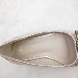 2015夏新品 方頭淺口女單鞋媽媽駕車防滑平底鞋 職業OL潮鞋 -尖頭-魚嘴-性感