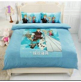 ~嫁妝寢具~Disney.迪士尼.雙人床包組~床包 枕套^~2~5^~6.2  MIT