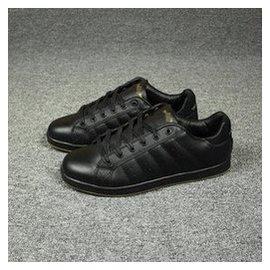 外原貨 大碼真皮鞋 頭層皮 板鞋 復古 鞋 大碼 純黑色男鞋