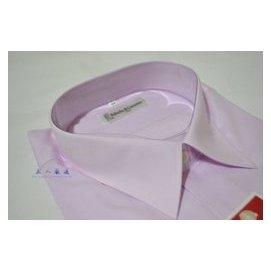 【黑人 】 MIT 馬卡龍系列 諾貝達 Roberta 專櫃 素面 長袖襯衫 淡粉紅色 1