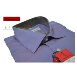 【黑人 】諾貝達 Roberta 素面 長袖 專櫃 紫色 襯衫 16 16.5吋《RB50
