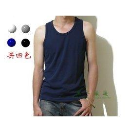 ~黑人 ~  MIT Hi Cool 羅紋排汗背心 聚酯纖維 寬版背心 吸溼 透氣 藍 灰