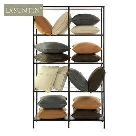 LaSuntin高 莫蘭迪 圓角純色 羊毛靠墊套 沙發抱枕套包郵