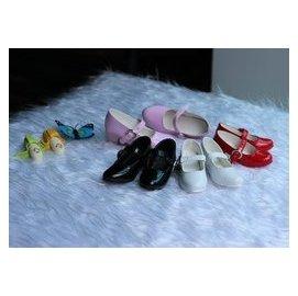 3分4分BJD娃娃鞋子 女鞋 高跟厚底   黑白紅粉色鞋子 SH366