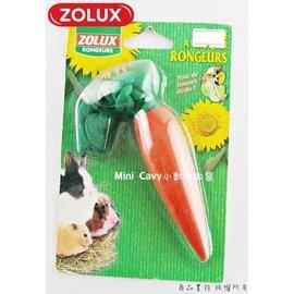 ~╮ Mini Cavy ╭~法國Zolux 小動物啃木~胡蘿蔔