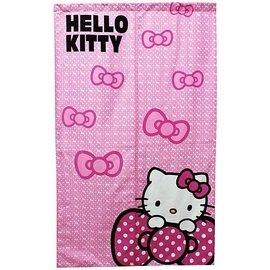 ~玫瑰物語~凱蒂貓新娘紅色KT~0489 Hello Kitty繽紛長門簾85x150cm