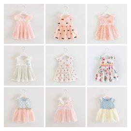 女童寶寶連衣裙純棉嬰兒童公主裙背心裙子夏裝0~1~2~3歲衣服