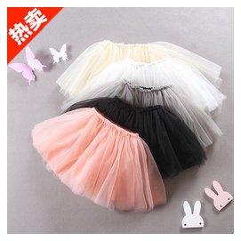 嬰兒蓬蓬裙1~2~3歲兒童公主裙寶寶短裙春秋4~5女童裙子 半身裙