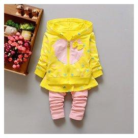 女寶寶公主打底褲裙子套裝女童秋裝衣服嬰兒服裝一周歲2~3歲