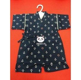 ~UC~JP~^~ ~他團同步^~ 男童寶寶 日式浴衣 和服 甚平~海軍藍底海軍救生圈~9