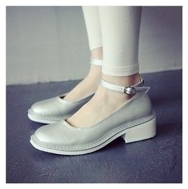 ~aiiyy家~ 春夏 搭扣涼鞋 簡約百搭款方頭小單鞋