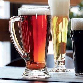 波米歐利啤杯巴伐利亞帶把透明無鉛 玻璃 超大扎啤杯子
