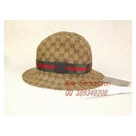 gucci古奇 高檔漁夫帽禮帽男女遮陽帽甜美可愛親子帽 帽子