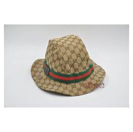 gucci漁夫帽遮陽帽女式夏天太陽帽潮 古奇帽子男女士帽子