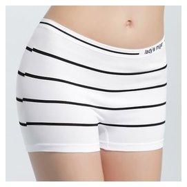 ^~MIGER密格內衣^~一體成型無縫織法 無縫 平口褲^(尺寸有L XL,S M^)~條