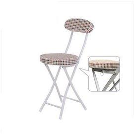 娜娜小屋簡直家用折疊椅子餐椅 便攜靠背椅 椅電腦椅 辦公椅宿舍靠椅~TW~