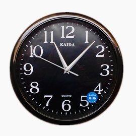 娜娜小屋歐式客廳掛鐘孔雀 臥室靜音 辦公 時鐘掛表簡約 鐘表