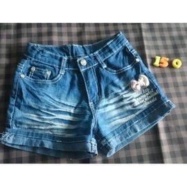 牛仔短褲140~150CM,120元