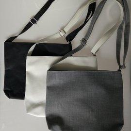 DIY包包空白手繪學生側背三色帆布包側背包,熱轉印絲網印刷手繪 ~可自行享受創作唯一無二的