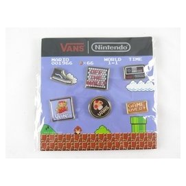 VANS x Nintendo 任天堂 瑪利歐聯名款 徽章 正品 Z0007