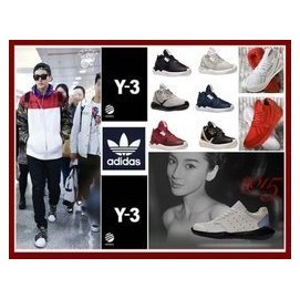 adidas 山本耀司Y~3 Y3 Qasa High Yohji Yamamoto 黑武