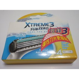 本周 Schick 舒適 XTREME3 超鋒3 刮鬍刀片 三刀片 4入包裝 舒適超鋒3