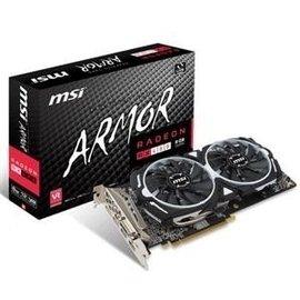 微星RX 480 ARMOR 8G OC 鎧甲虎  PCI~E顯示卡