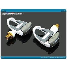 ~速度公園~ Xpedo TI 鈦軸心 RF~L1  白色  MG跑車卡踏送2套鞋底板喔!