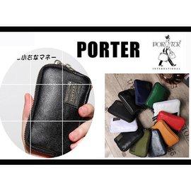 吉田包PORTER porter休閒男女零錢包 手拿包 防水零錢袋 手機袋 帆布錢包