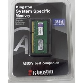 金士頓 DDR3 1600 4GB 1.5V 筆電用記憶體^(ASUS ^)