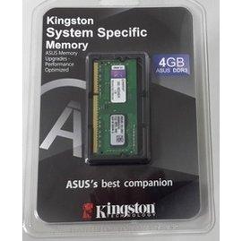 金士頓 DDR3 1600 4GB 筆電用記憶體^(ASUS ^)