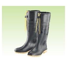 護口雨鞋 男用全長雙色雨鞋 皇力牌護口型^(加長皮套^)工作鞋~防水.合成鞋底耐磨~安安大