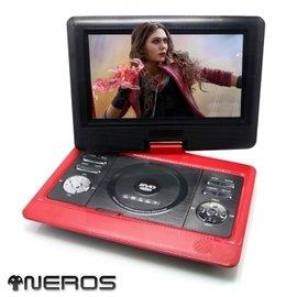 NEROS~緋紅女巫~10吋 移動式RMVB~DVD行動影音播放器^(2小時版^)  支援