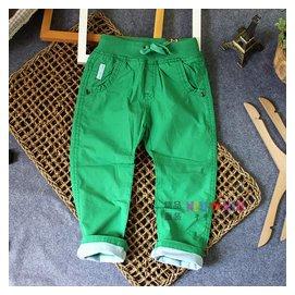 2014新品兒童男 女童薄款長褲秋天的褲子全棉 褲全棉褲子