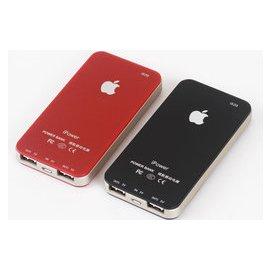 超薄 移動電源蘋果4SHTC小米2充電寶 10000毫安充