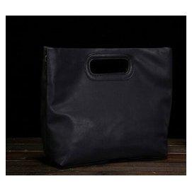 品 男包英倫復古男手提袋Ipad公文包手提單肩斜挎背包文件包