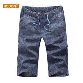 rodon 5分短褲 男士 修身五分褲男 7分中褲男寬松潮